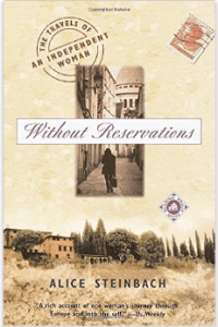 Without Reservations book about travel