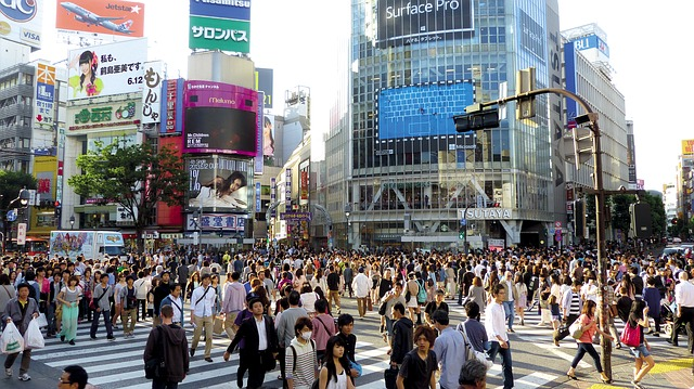 Shibuya Crossing is a must on any Tokyo 2 day itinerary