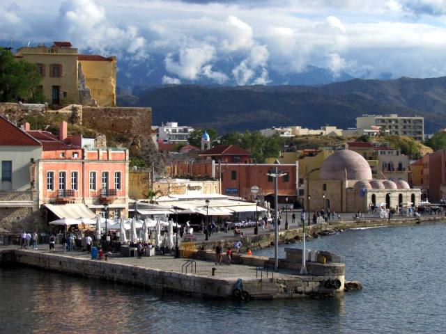 Chania in Crete is one of the most underrated cities in greece