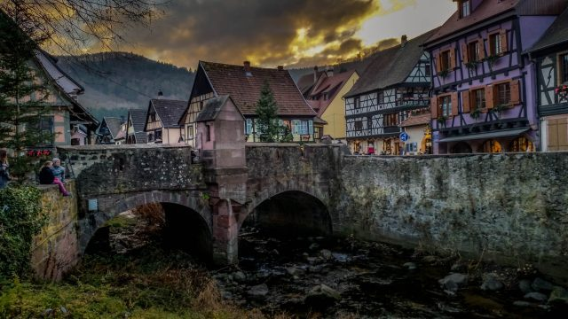 Kaysersberg one of the most beautiful fairy tale places in europe