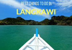 The Best Things to do in Langkawi. Malaysia in 3 Days