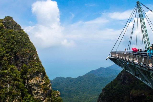 Skybridge is one of the best things to do in Langkawi