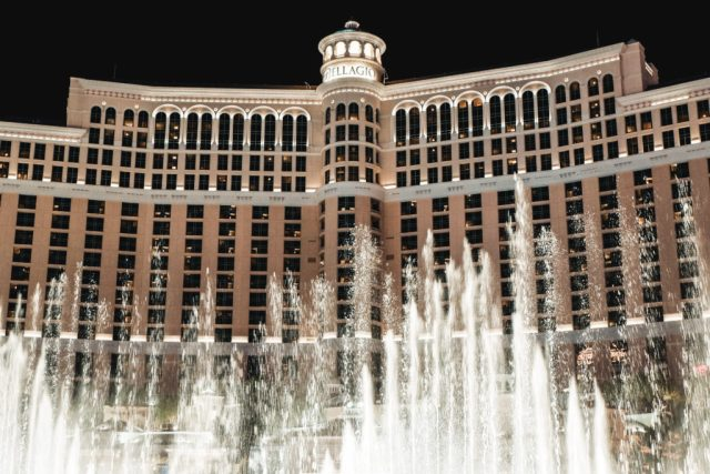 Bellagio Fountains Show 2 days in Las Vegas itinerary