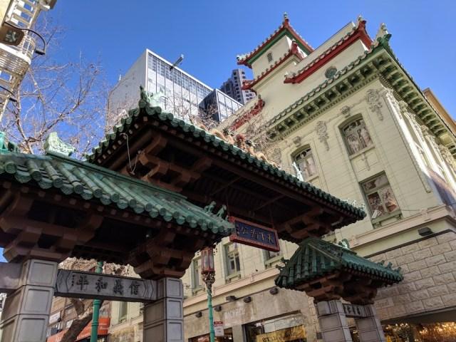 Chinatown Dragon Gate san francisco travel blogs