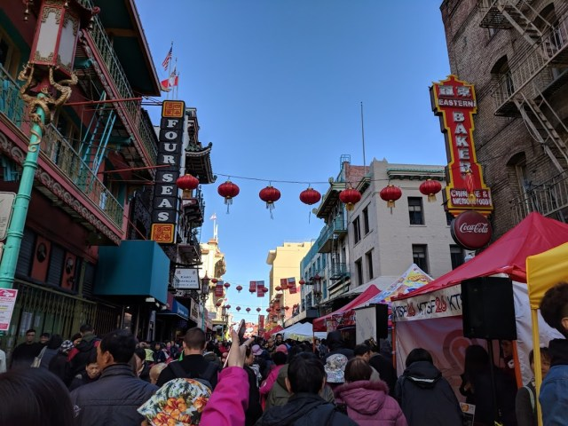 Chinatown during CHinese New Year Alcatraz Island san francisco travel blogs