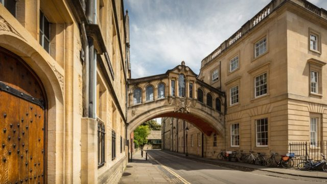 Bridge of Sighs weekend in oxford itinerary