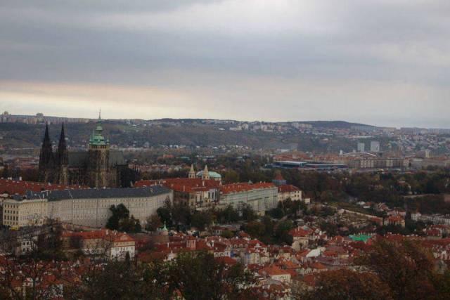 Prague Travel Blogs Petrin Tower View