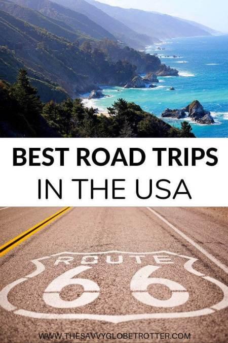 Best Roadtrips in the USA