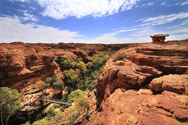 Kings Canyon is one of the best places to visit in Australia