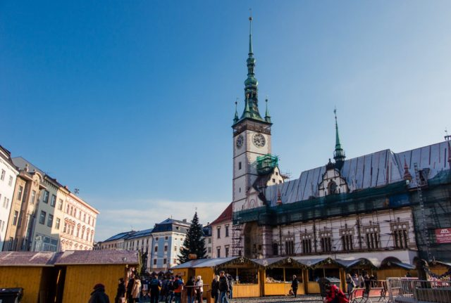 Olomouc one of the best day trips from prague by train