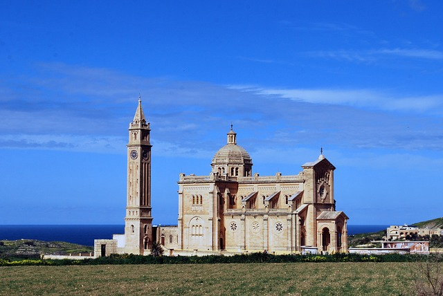 Basilica of the National Shrine of the Blessed Virgin of Ta' Pinu in Gozo