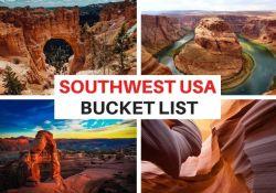Southwest USA bucket list