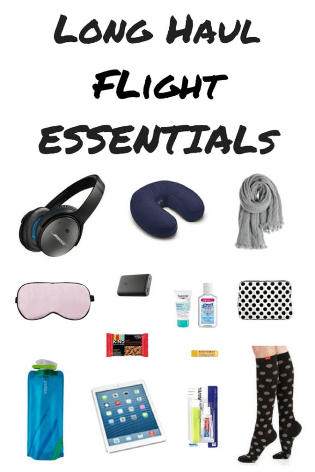 Long Haul Flight Essentials