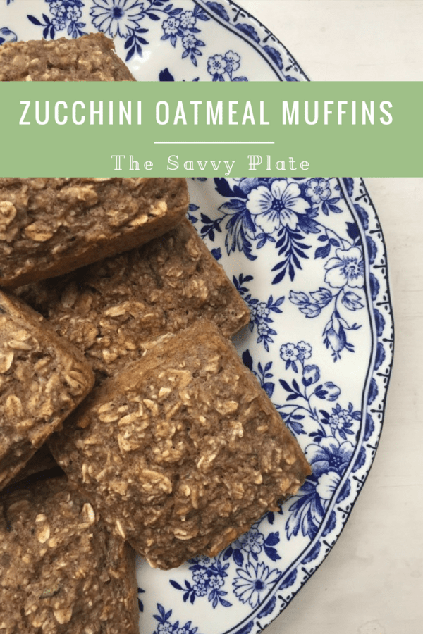 Healthy & easy gluten-free zucchini bread muffins that are low in sugar!