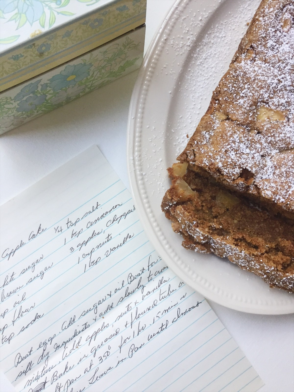 Fresh Apple Cake: A Recipe from My Grandma