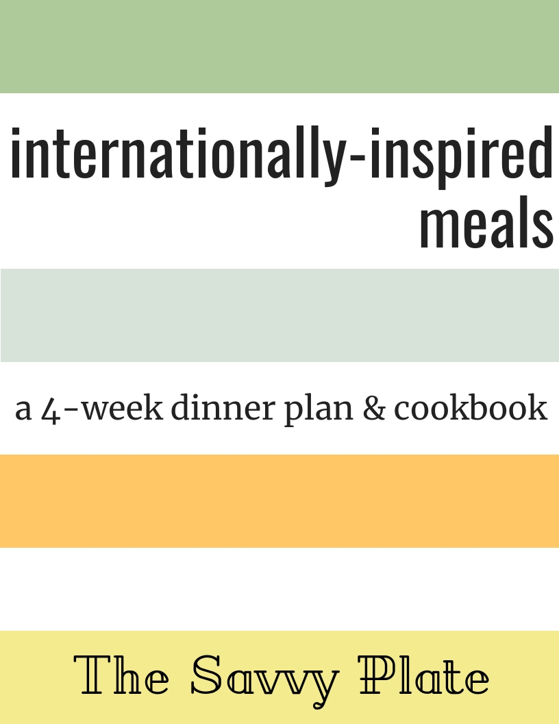 The Internationally-Inspired Meal Plan
