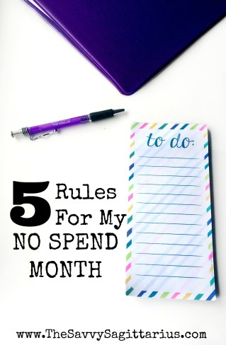 Feel like your budget is so far off track and don't know where to start? A No Spend Month may be the perfect reset that you have been needing!