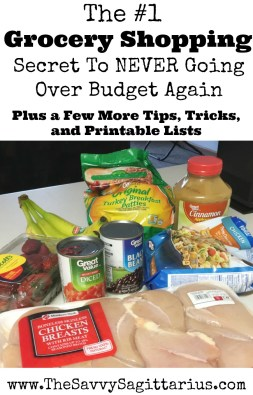 This is the grocery shopping secret that will save you tons of money on your budget!