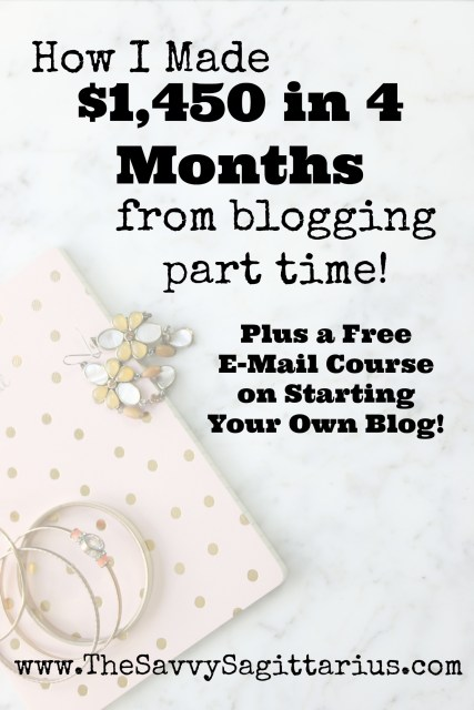 I have struggled with making money from my blog, but I am slowly figuring it out! I absolutely love blogging and it is so much fun to watch it grow. Check out these tips for make a little side money from your blog!