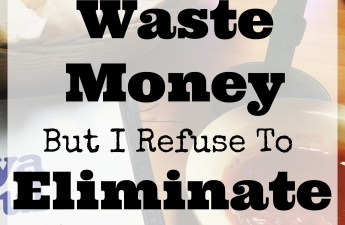 """The biggest financial advice I have seen is what items that you should never pay for once you start your debt free journey. Maybe I just don't fit in, but I don't see eye to eye on all of the items that are a """"waste"""" of money. I believe that if it brings ease or joy to your life, why eliminate it! Check out my list of 14 things that I waste my money on!"""