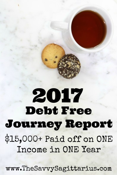 In 2017, I paid off over $15,000 in credit card payments, car payments, and student loans with just my income. I worked many hours and put about 50% of my income to my debts. Here is a summary of 2017 on my financial peace journey!