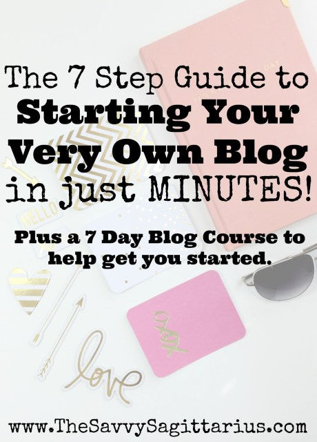 I started blogging a little over 4 years ago. I had no idea what I was doing, but 4 years and 3 blogs later, it is one of my extra incomes! Have you thought about starting a blog?   Check out this tutorial on how to start a blog in just MINUTES!