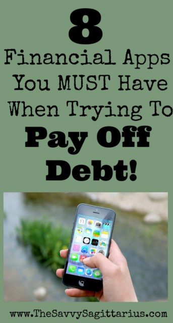 There are a million different apps that you can download to your phone. I have a ton on my phone myself, but here are my favorite apps that have helped me along my Debt Free Journey!