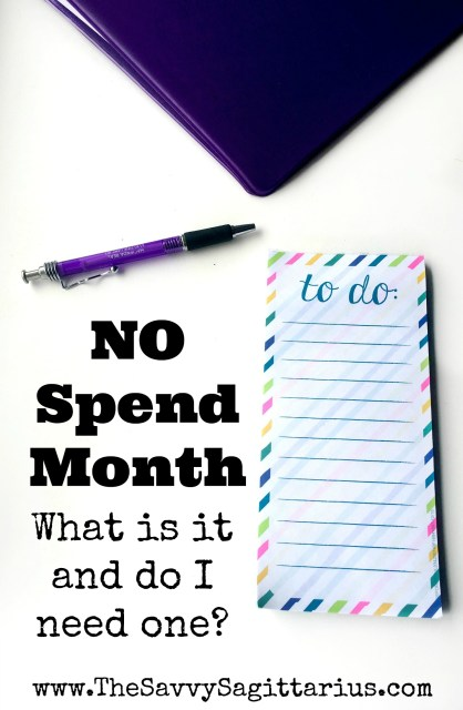 """Maybe you have heard all of these finance gurus talking about """"No Spend Months,"""" but you have NO clue what they mean. Here are a few starting points.."""