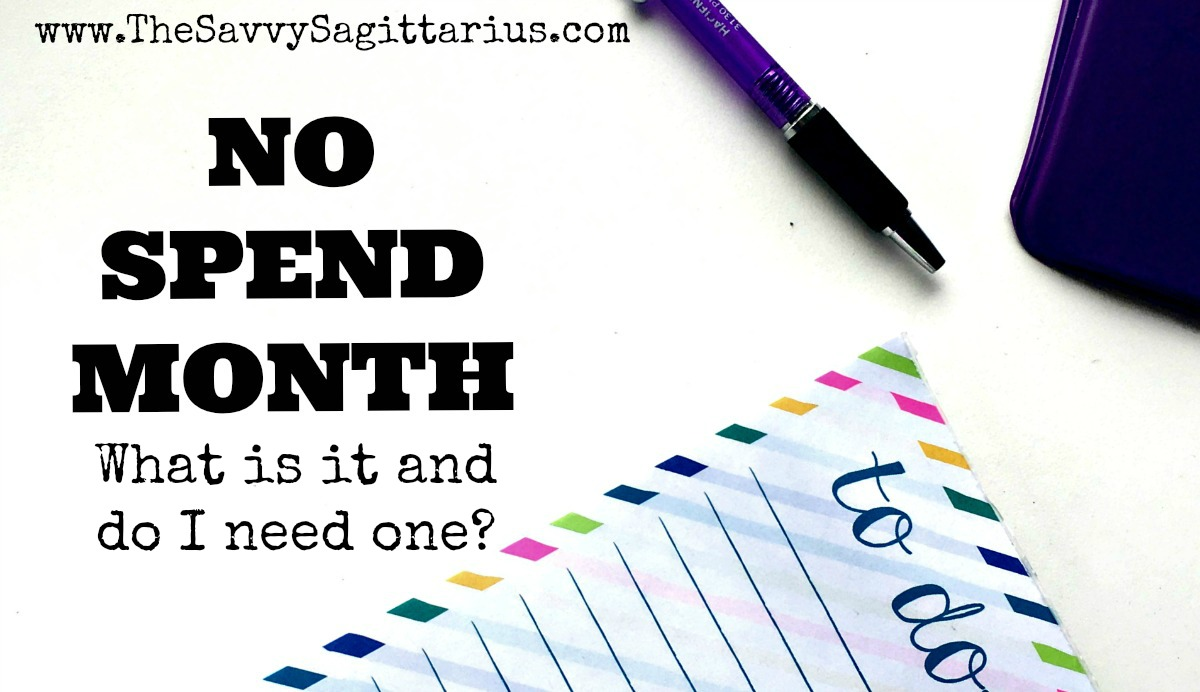 "Maybe you have heard all of these finance gurus talking about ""No Spend Months,"" but you have NO clue what they mean. Here are a few starting points.."