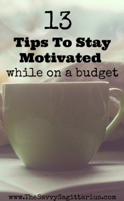 I have heard so many people say that they have created a budget, but after it's done, they don't know how to stay motivated to stick to it! Here are 13 tips to staying motivated on a budget!