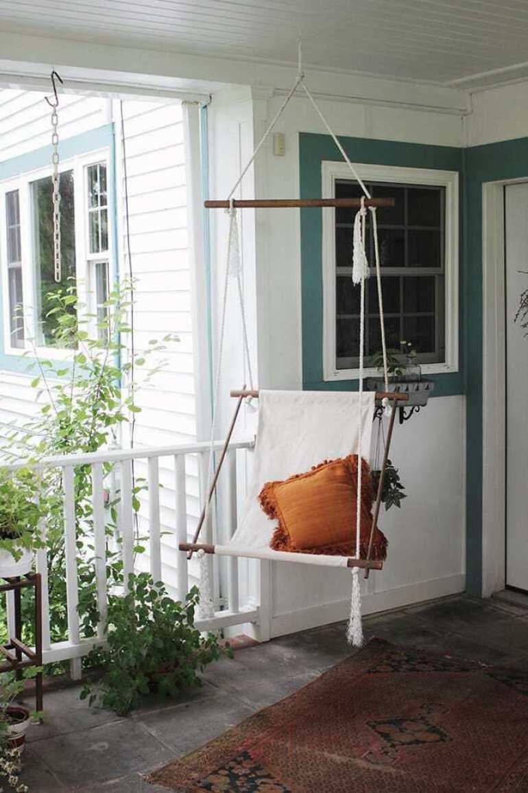 Hanging DIY lounge chair