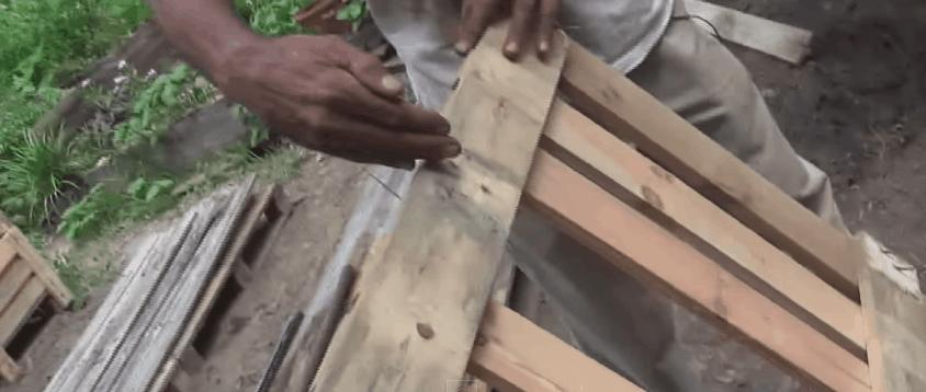 cut pallet in half