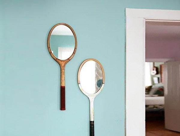 Tennis Racket Mirrors