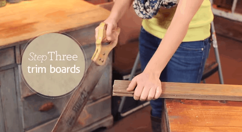 Cut the boards