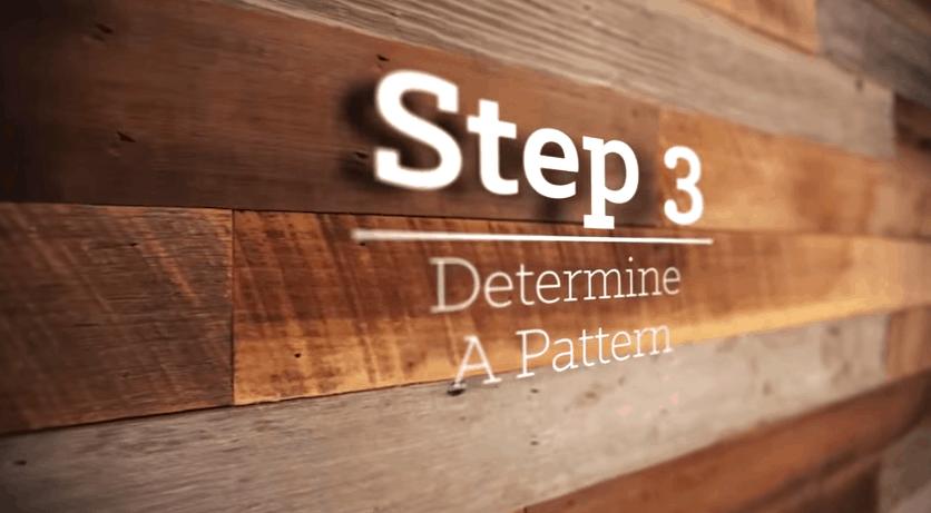 Determine a pattern