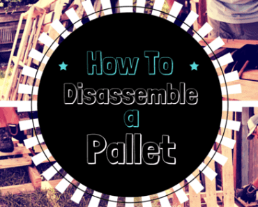 disassemble a pallet