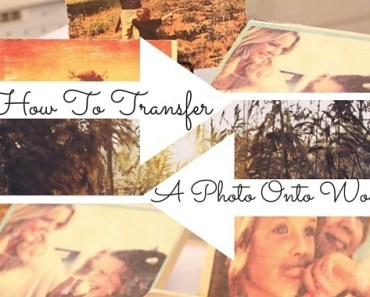 transfer wood photo