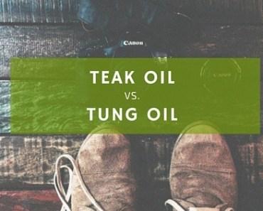 teak oil vs. tung oil