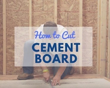 How To Cut Hardie Backer Board