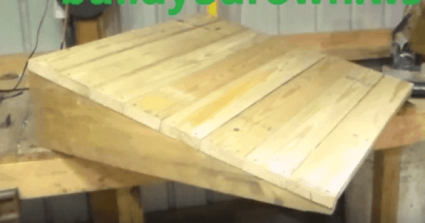 How to Build a Shed Ramp - Simple Step by Step Tutorial