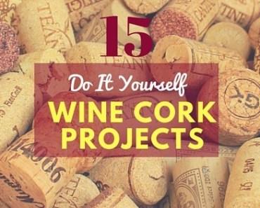 15 DIY Wine Cork Projects