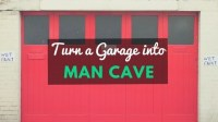 How To Turn a Garage into a Man Cave - Beginning To End ...