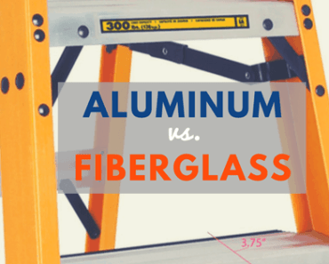 aluminum vs. fiberglass ladder