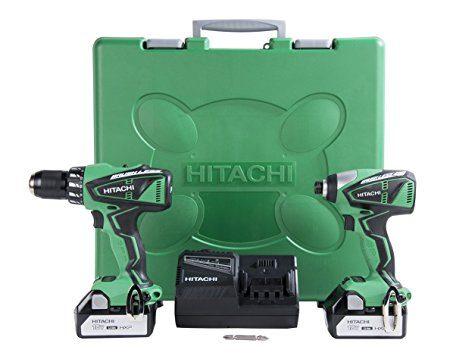 hitachi brushless driver set