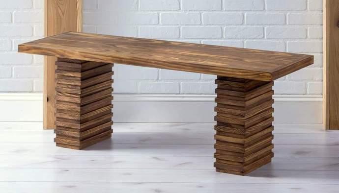 Modern DIY Bench