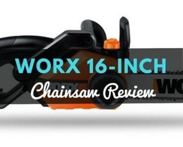 WORX 16-inch Chainsaw