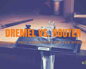 Dremel vs. Router