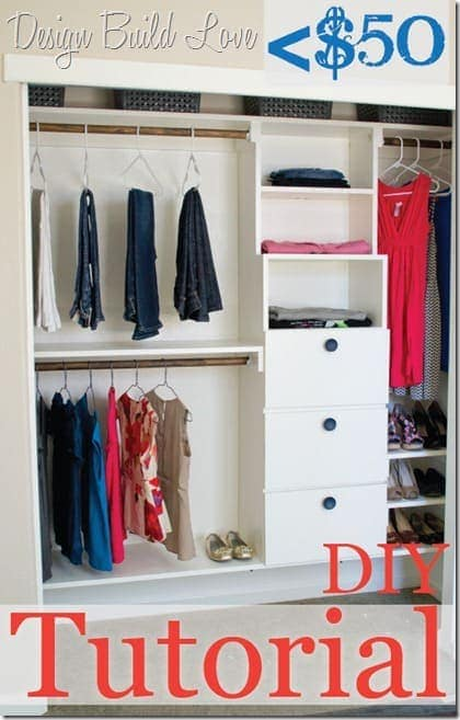 27 diy closet organization ideas that wont break the bank diy closet shelving solutioingenieria Gallery