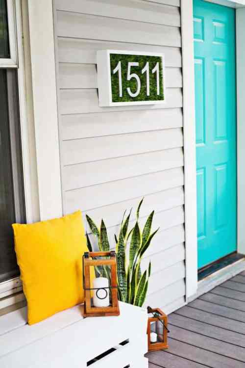 Awesome DIY House Numbers