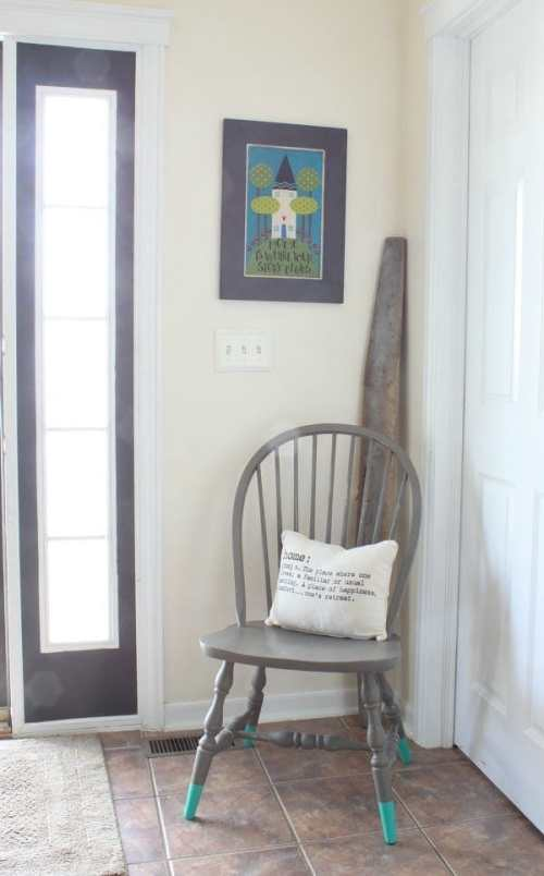 Painted Chair Makeover
